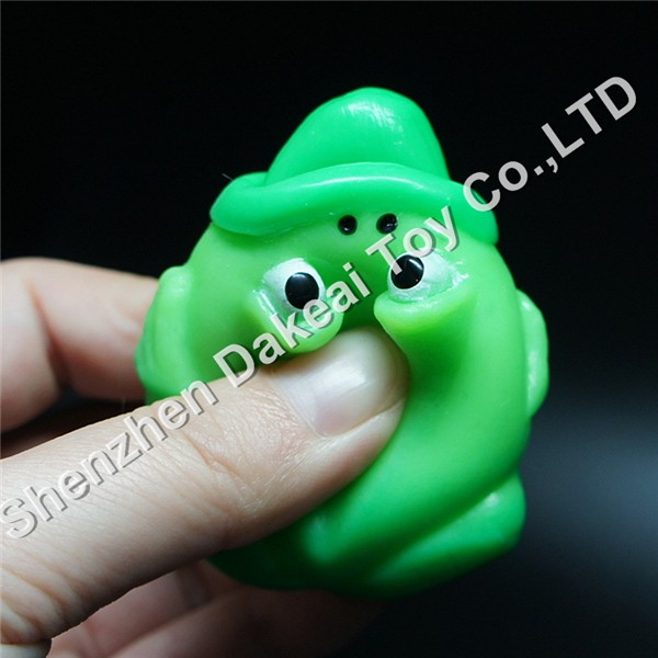 Squeeze frog tongue out animal toy Great novelty gift