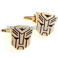 Transformer Autobot Gold Plated Cufflinks