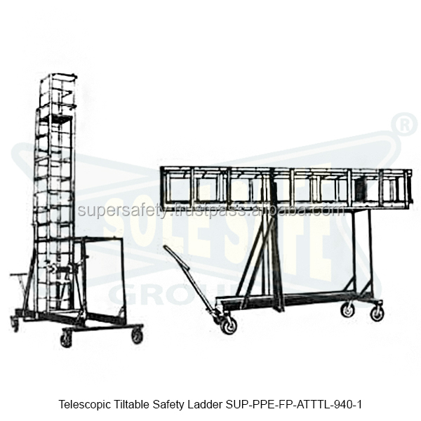 Telescopic Tiltable Safety Ladder ( SUP-PPE-FP-ATTTL-940-1 )