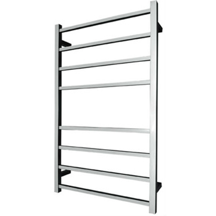 Stainless steel hotel bathroom electric heated towel rail