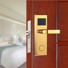 2017 High Quality Stainless Steel Key Card Digital Security Keyless Rfid Electronic Inn Apartment Hotel Room Door Lock