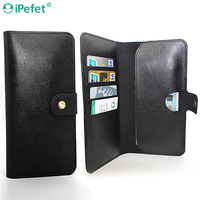 Cell phone case Included three card slots and money pocket Mobile Accessory