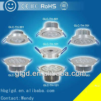 Europe iron ceiling lamp modern 1w 3w 5w 15w 18w 20w GLC-TH led ceiling light