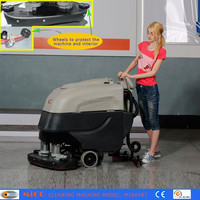 Floor Facial Cleaning Machine: Battery Self-propelled Hotel Scrubber