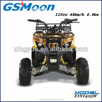 110cc ce sports quad atv with 4 stroke engine
