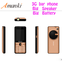 2018 New Products! 2.4 Inch Cheap China Bar Phone WCDMA 850/1900/2100 Small Size 3G Feature Mobile Phone With Big Battery