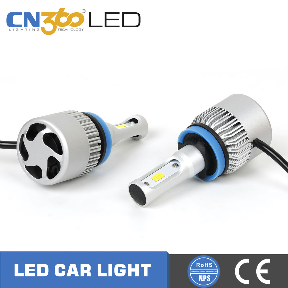 Auto Parts Cn360led Motorcycle Car Front H11 Led Head Light For Automotive