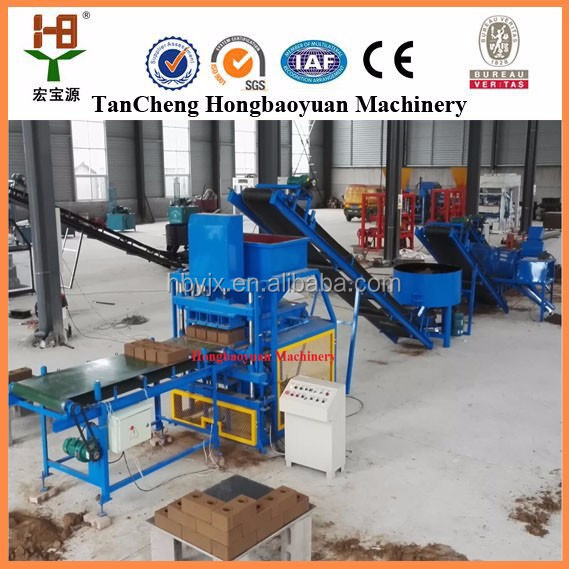 Hongbaoyuan HBY4-10 clay mixing machine for sale in South Africa