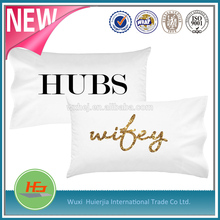 Dye Sublimation 100% Polyester Custom Printing Pillow Cases/Covers