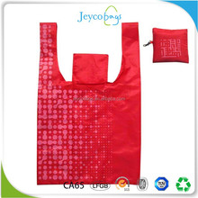 JEYCO BAGS AZO free eco printing nylon foldable shopping bag