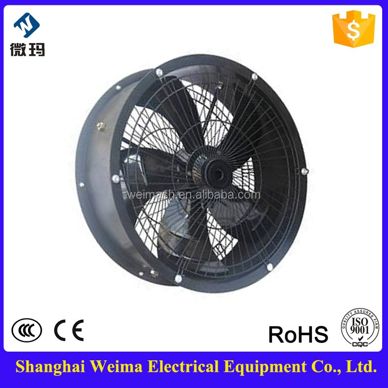 Factory supply 450mm Tube Axial Fan 220v AC