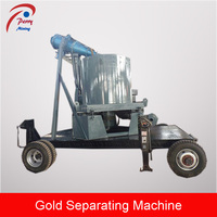 Mobile Gold Sand Processing Separator Machine, Centrifugal Gold Separator for Sale