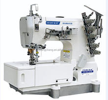 High Speed Flat bed Industrial Interlock Coverstitch Sewing Machine Price