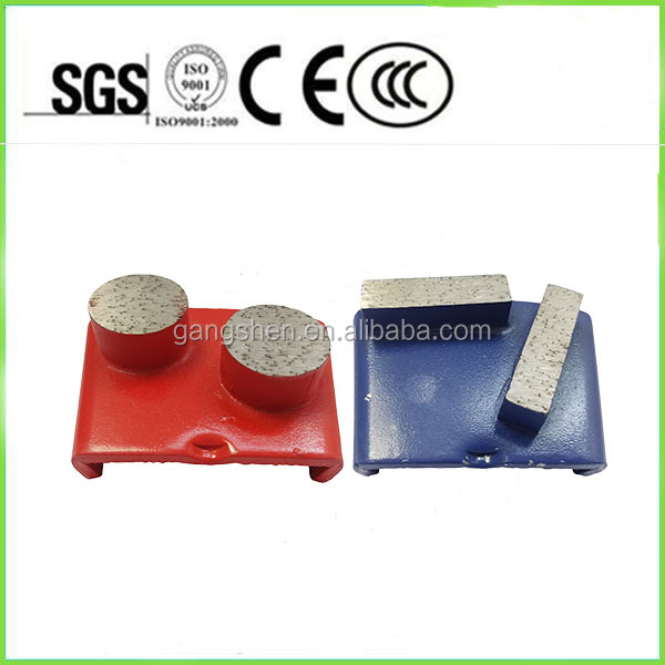High quality polishing tool with different sharpes cheap wholesale diamond segment metal concrete grinding plates for floor grin