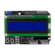 1602 LCD LCD1602 Keypad Board Shield Blue Backlight For Mega2560 UNO R3