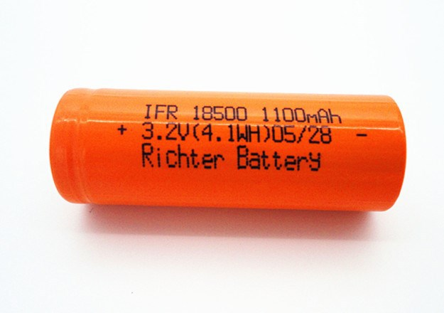 wholesale 18500 battery by Richter suitable for power tools lifepo4 rechargeable battery 3.2v 1100mah dewalt