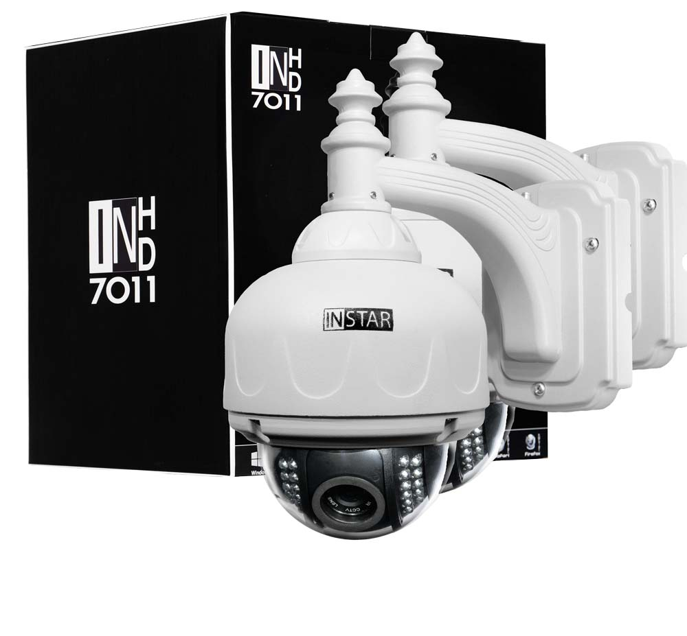 2014 INSTAR Newest HD IP Network Camera H264 720P WDR Omni vision CMOS Sensor Pan&Tilt