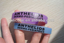 2012 Fashion Promotional silicone uv wristband