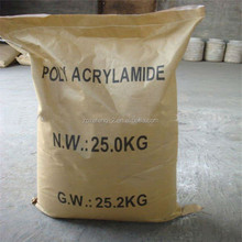 100% Polymer Chemicals Flocculants CPAM Cation Polyacrylamide for waste water