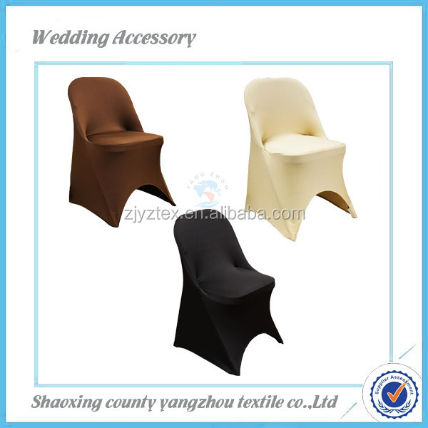 red Spandex spandex folding chair cover for wedding/used for banquet or meeting/universal cheap spandex folding chair cover