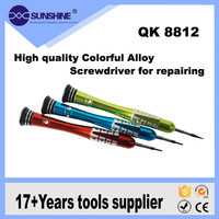 Professional high quality material aluminum alloy long handle screwdriver for iphone series