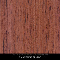 engineered wenge timber wood sliced laminated mdf wood veneer for door skin plywood racon face sheets