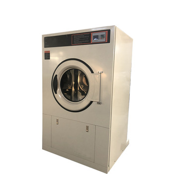 Hot commercial laundry washer and dryer machine for hotel