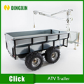 Small Atv trailer for WOOD,LOG,Timber 2016 new type