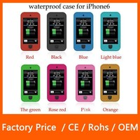 Factory Price Waterproof Small Round Spots PC Case For IPhone 6