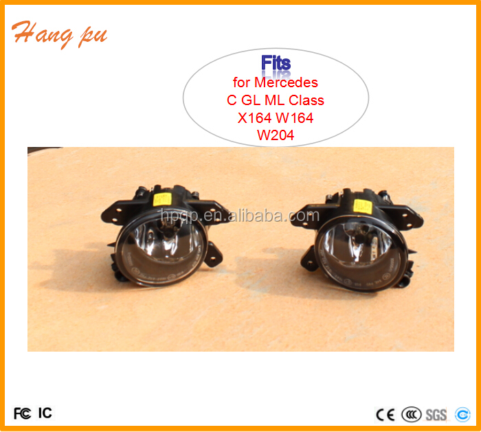 autoparts hot sell Fog Lights Driving Lamps for mercdeds C GL ML Class X164 <strong>W164</strong> W204 2005-2010