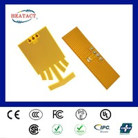 KA09 Taiwan customized high frequency kapton tape film heater