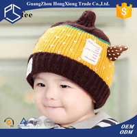 New design baby animal knitted animal hats