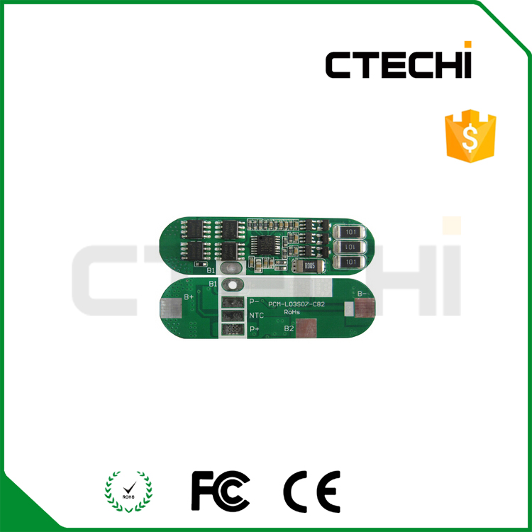 High quality rigid printed circuit board PCM/PCB battery protected boards