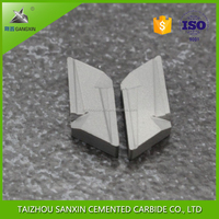 Gangxin brand tungsten carbide P10 brazed tips/soldering tips for cutting tools