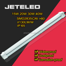 Waterproof led fluorescent tube900mm SMD2835 130LM/W CRI 80 LED Tube Tri-proof Light 20W