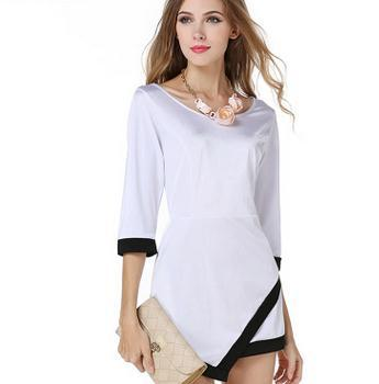 Hotsale ladies shirts western woman blouse fashion long lady top