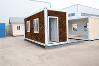 china Durable flat 20 feet steel container house plans for sale for Algeria