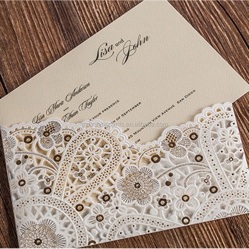 Wholesale laser cut wedding envelopes - Online Buy Best laser cut ...