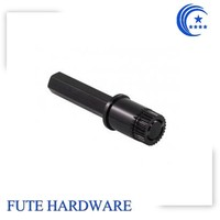 CNC machining stainless steel hex shaft for industry