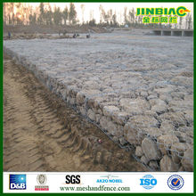 Galvanized hexagonal wire mesh baskets gabions 6x8 gabion mesh