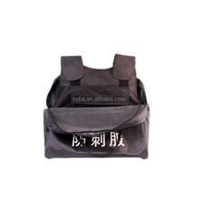 High quality Stab resistant Knife proof vest Anti stab vest with 1.4mm steel plate