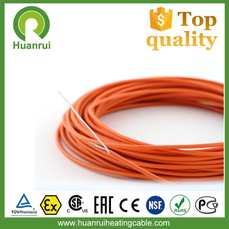 Wooden Floor Under Tile Electrical Pipe Heating Trace Cable