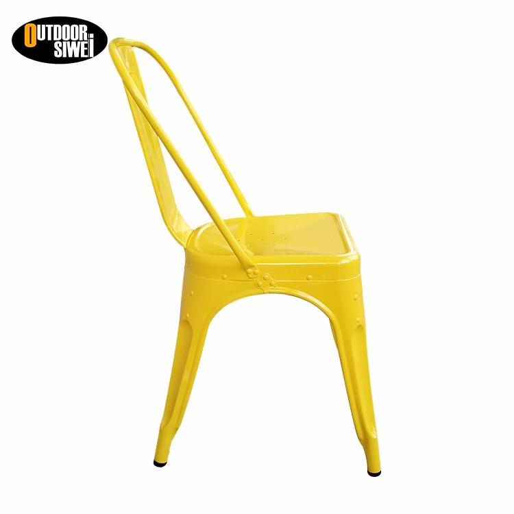 Oem de Metal Cadeiras De Jantar do Restaurante