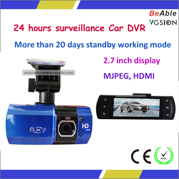 24 Hours Surveillance Taxi camera 1080P Car Camera Recorder