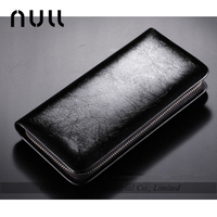 classiacl expandable natural metallic long wallet leather purse