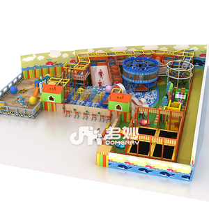 high quality soft play indoor playground kid indoor maze digital playground models