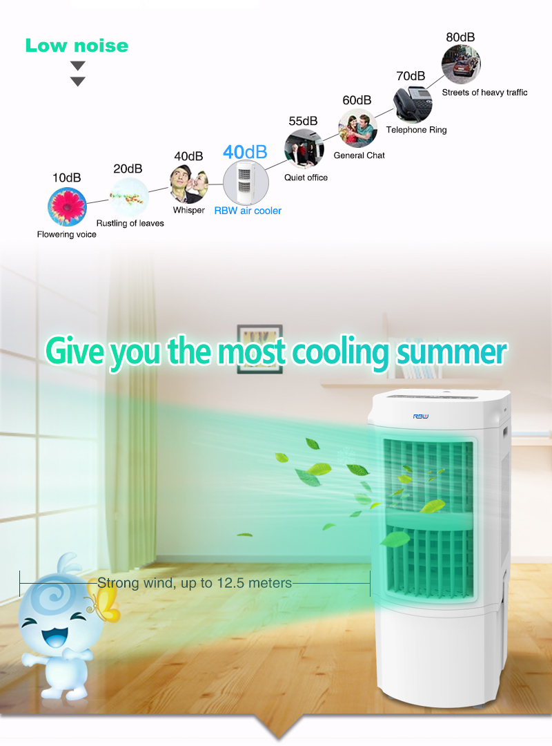 New Stylish Portable Centrifugal Evaporative Air Cooler Fan