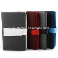 "7"" tablet case keyboard leather case with standard Black and White"