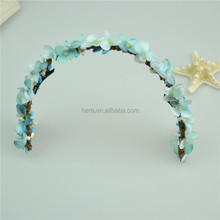 2018 new arrivals top grade bride marriage flower crown decoration
