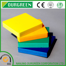 Factory supply colored PVC rigid foam sheet for printing